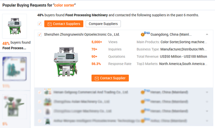 The multifunctional recycling plastics color sorting machine for sale
