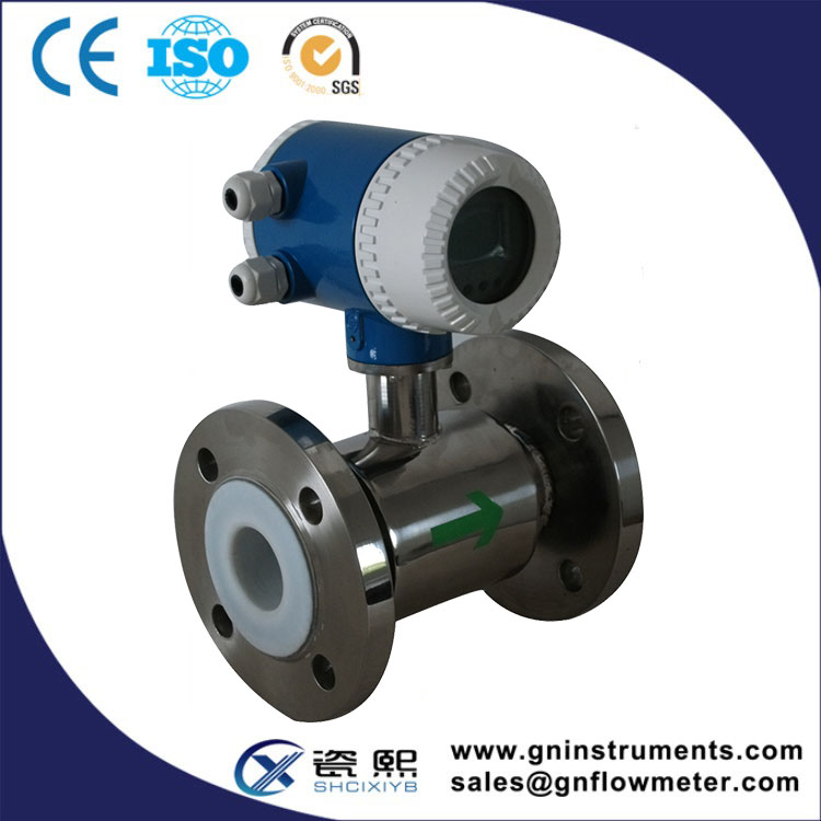 High Performance-Price Ratio Two-Wire Magnetic Flow Meter Which Employs The Fluid Noise Free