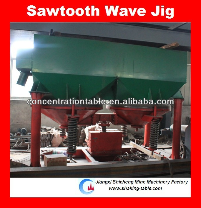alluvial gold jig washing plant