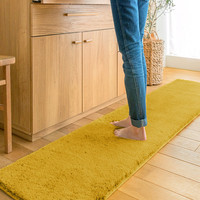 anti slip microfiber rubber backed area kitchen rugs