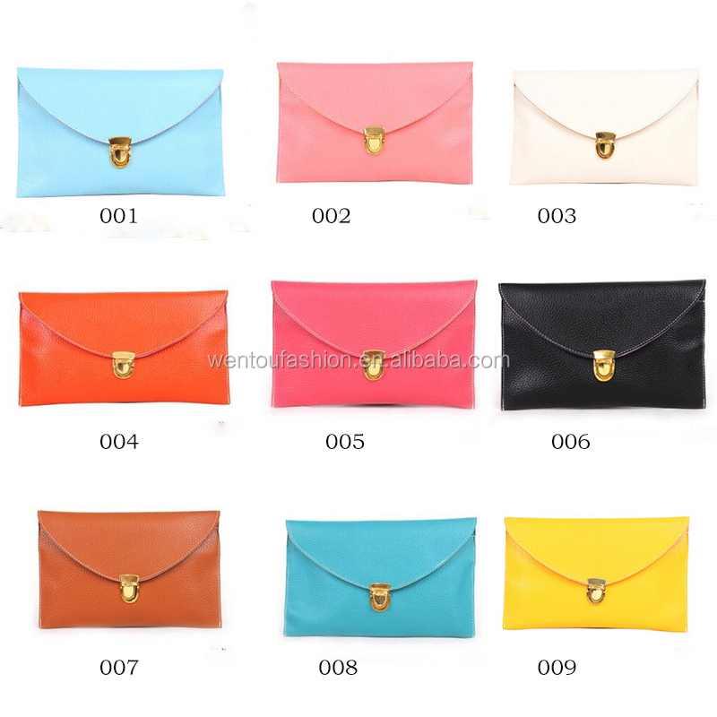 Wholesale new fashion chain shouder Envelop Clutch Purse