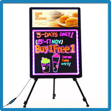 2015 hot products innovation competitive price 90 flashing models with light box sign board dvertising board for shops