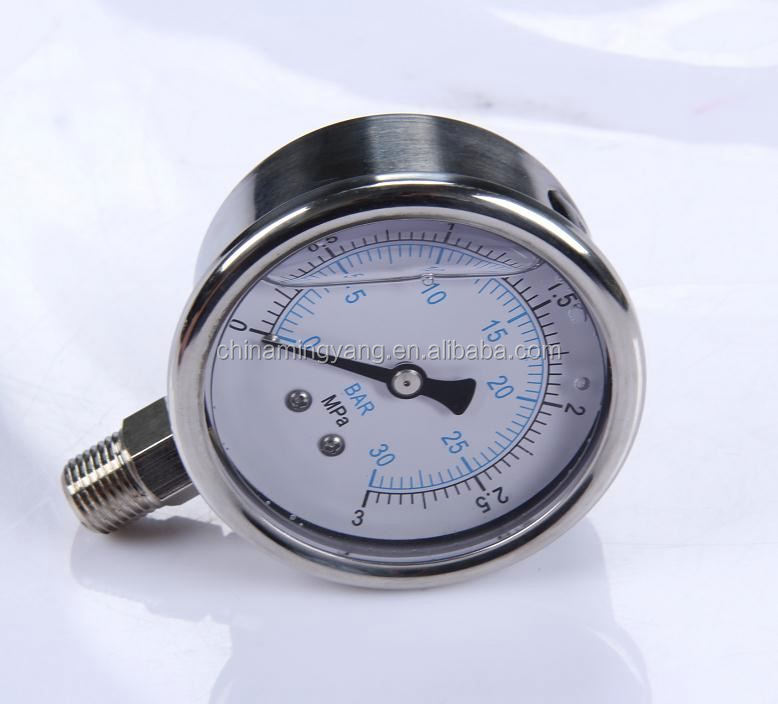 New Design Durable Lightweight Easy To Read Clear truck crane oil pressure gauge
