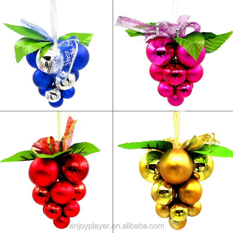 christmas grape ornament