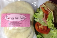 Fresh Pita Bread by Mommy can Bake