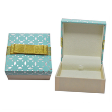 Beautiful Printing Plastic Cufflinks Gift Box Factory