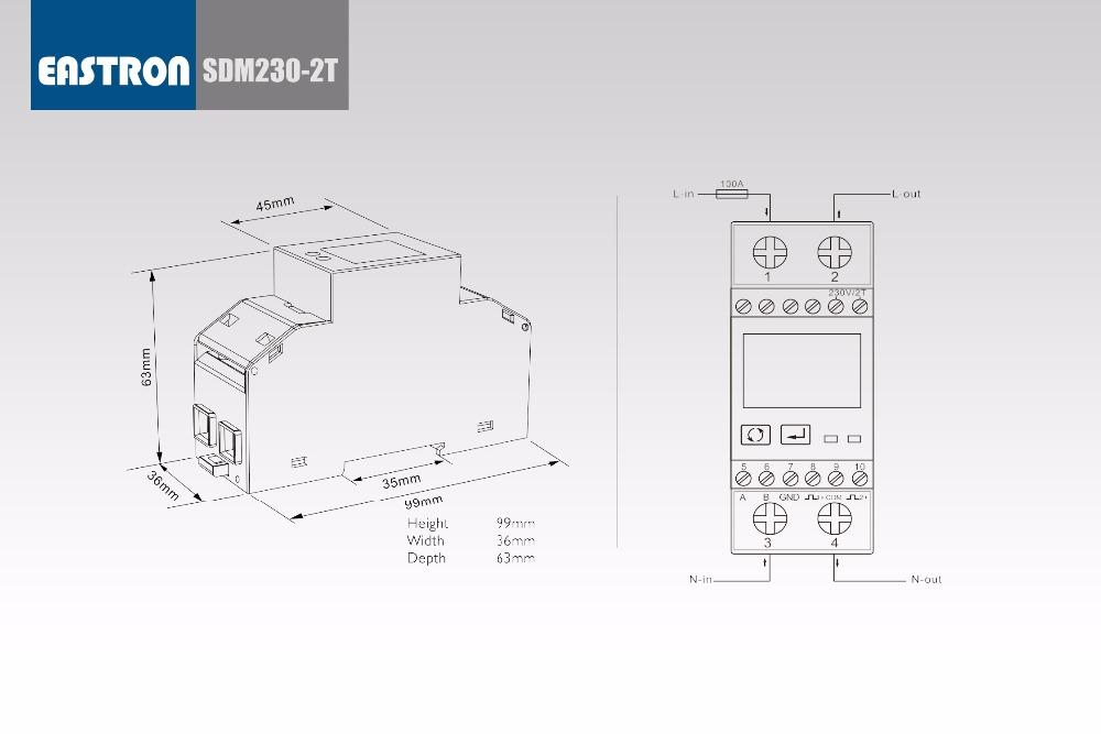 SDM230-2T&