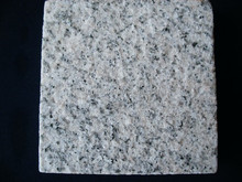 Flamed Brushed Granite Tile /white granite