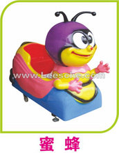 toy game china supplier colorful bee indoor amusement rides sale