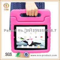 Chilren safe EVA handle stand tablet pc cases for kids