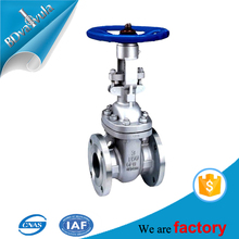 Wholesales manufacturer safety test bench chain wheel ANSI standard gate valve