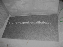 Newstar absolute black granite flamed brushed