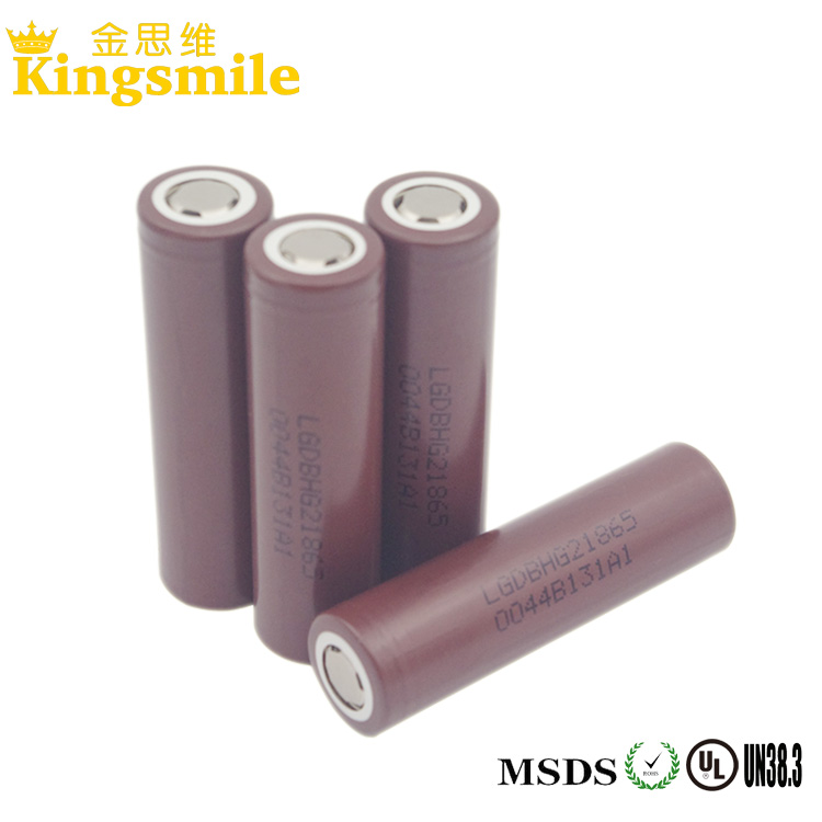 2015 Top Selling Lg 18650 3.7v 3000mah 20a Rechargeable Li-mn Battery With Exquisite Quality