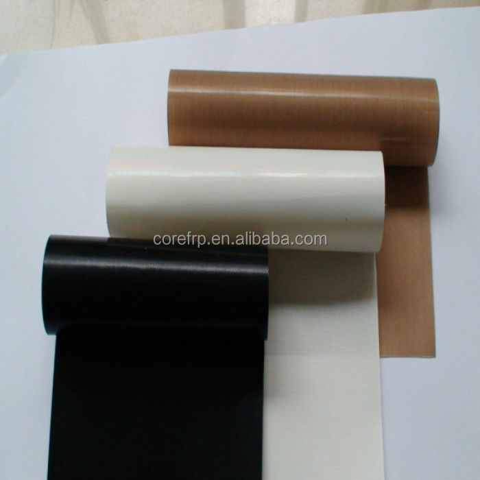 Heat resistance/non stick PTFE coated fiberglass(fiber glass) fabric/cloth/film/liner price