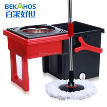 Pull type Spin mop for cleaning floor 2014 new cleaning mop