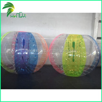 human Bubble ball for soccer, bumper ball good price