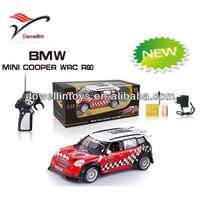 2013 New 1:18 plastic toy mini cooper car