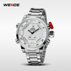 2015 weide paypal watches WH2309 stainless steel back water resitant led watch instructions custom watch