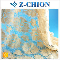 Shaoxing Zchion Textile Guipure High Quality African George Lace Fabric For Wedding Dress Lace