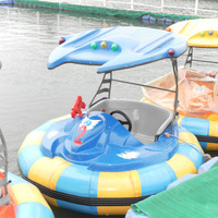 Battery Operated Electric Kid's Boat Bumper Boats For Water Pool