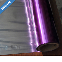 Colorful Flexible Packaging Metalized Polyester BOPP Nylon Polyethylene CPP Film