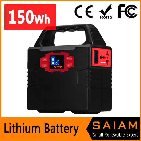 New design portable battery operated generator for camping