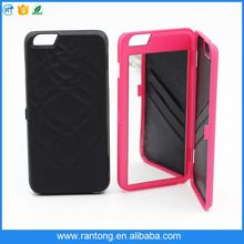 Smart Mobile Cell Phone Case for iphone 6 wallet mirror case