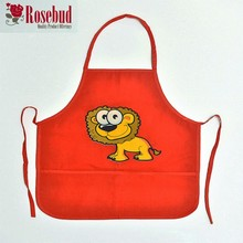 customized children apron kids lovely apron