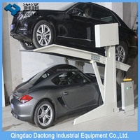 Two Post Tilting Car Parking Lift Car Parking Company