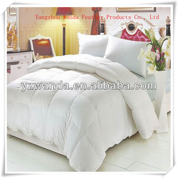 5 star hotel antiallergic king size high grade goose down duvet