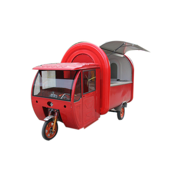 Gas Powered Tuk Tuk Hot Dog Tricycle Steamer Motorcycle Food Truck Ice Cream Coffee Electric Bikes for Sale