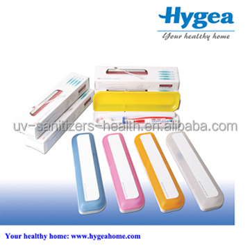 OEM design portable mini uv toothbrush sterilizer/sanitizer,electric bamboo toothbrush sanitizer