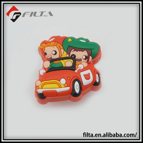 Car shape rubber cartoon kids furniture Knobs and Pulls