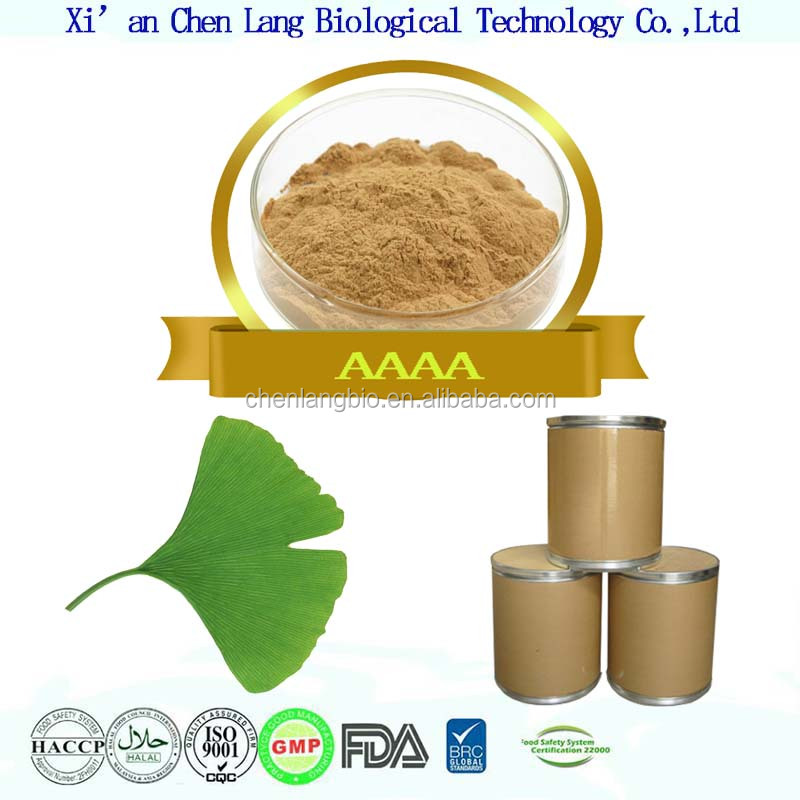 China Gold Ginkgo Biloba Extract Supplier Offer Pure Nature Ginkgo Biloba Extract Egb761