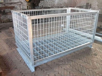 welded wire mesh fish cage