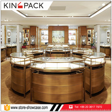 High end mdf wood jewelry store display furniture for jewelry shows