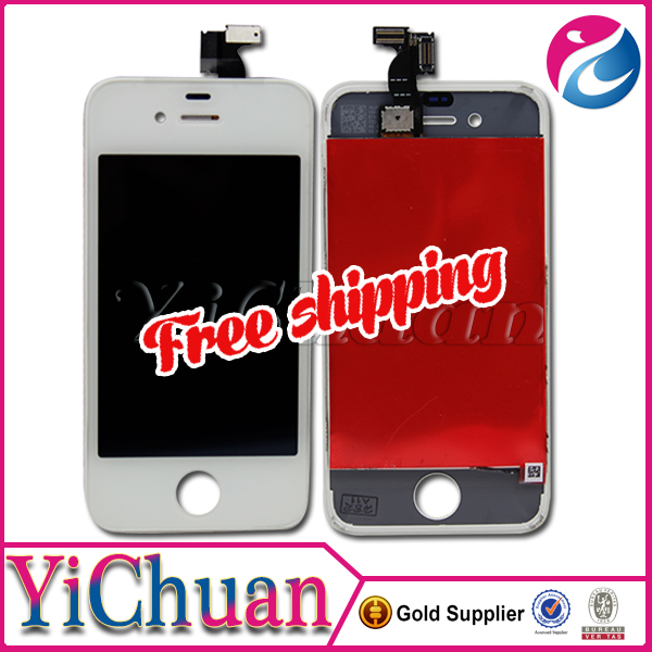 Original pass lcd for iphone 4 lcd screen replacement, for iphone 4 display lcd digitizer