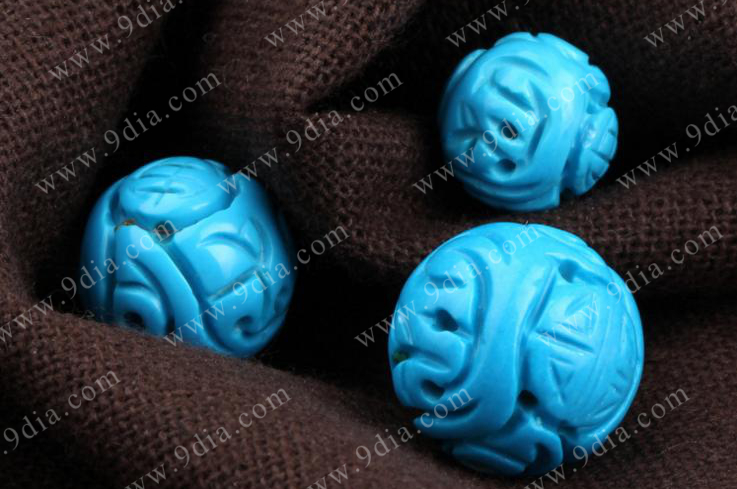 Wholesale Natural Gemstone Turquoise Stones Beads