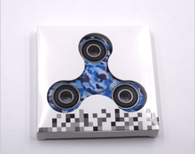 Popular Toys Camouflage Color ABS Fingertips Gyro Relieve Stress Hand Mini Fidget Spinner