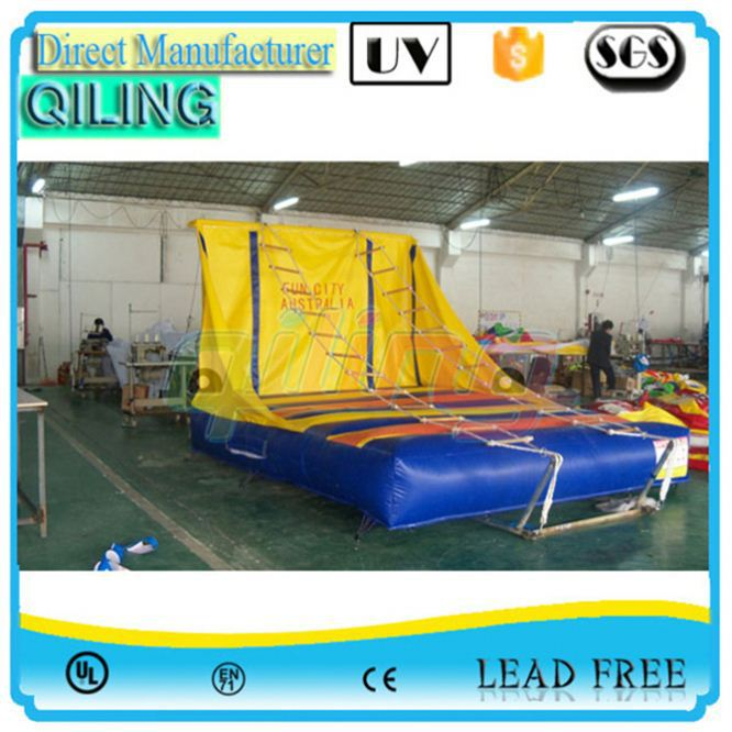 safe quality Sports Games Arena climbing rope ladder game for backyard