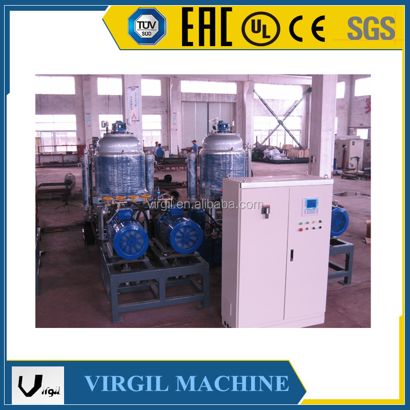 Low Pressure Stree Toys Block PU Foaming Machine