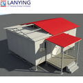 new design different model of prefab houses by Lanying