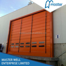Motorized Fast Stacking Shutter Door/Gate/Cold Storage Door
