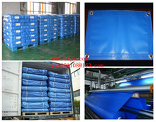 blue 500g PVC tarpaulin for tent/heavy duty truck cover /awning