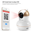 Home Surveillance IR-CUT Filter Night Vision Motion Detection Wireless Webcam with SD Card