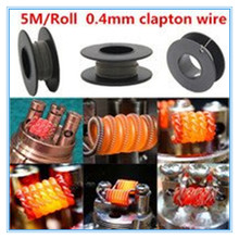 China top ten selling products original OCr25Al15 clapton coil wire