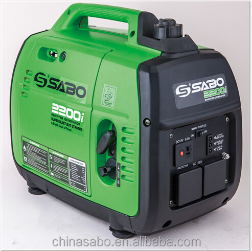 2200W portable sine wave gasonline generator made in China