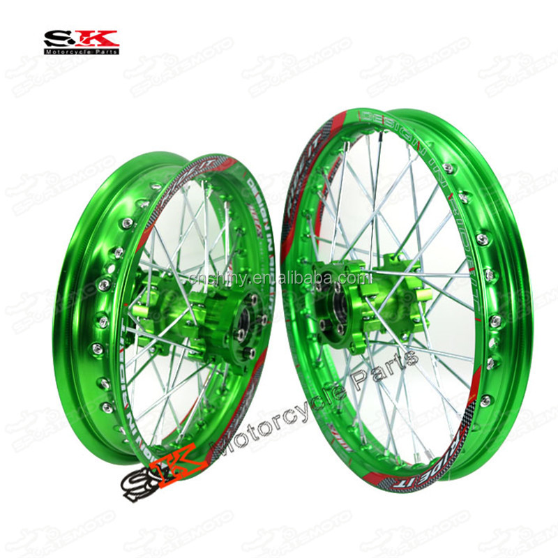 Dirt Pit Monkey Z50 Dax Bike CNC Aluminum Wheel Rim Set For Off Road Tire KAYO BSE 1.85x12 1.6x14 1.85x14 1.6x17