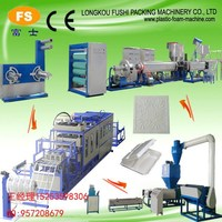 Best Full auto Disposable Foam thermocol plate machine, Vacuum Forming Cutting Stacking Machine