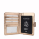 classic design leather passport holder / passport cover leather luggage tag travel organizer wallet